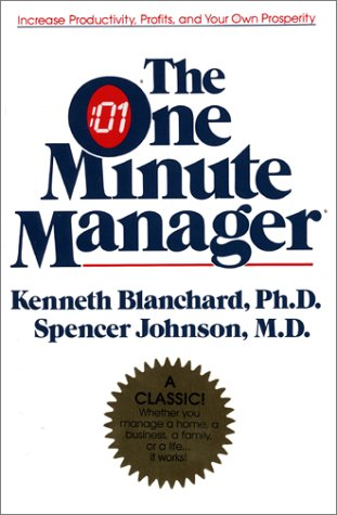 Book Review: The One Minute Manager by Kenneth Blanchard & Spencer Johnson