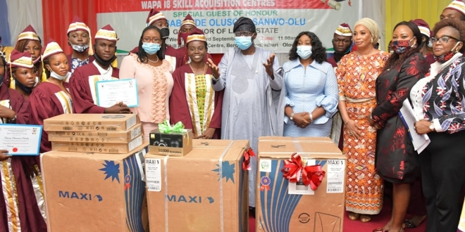 6,252 Students Graduate From Skill Acquisition Centres